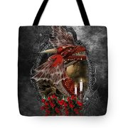 The Red Dragon Tote Bag