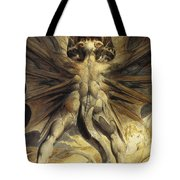 The Red Dragon And The Woman Clothed In Sun Tote Bag