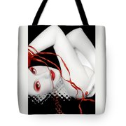 The Red Facade - Self Portrait Tote Bag