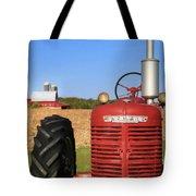 The Red Farmall Tote Bag