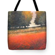 The Red Field #2 Tote Bag