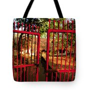 The Red Gate Tote Bag