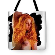 The Red Head Tote Bag