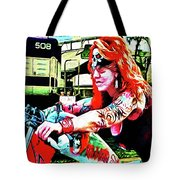 The Red Headed Slut Tote Bag