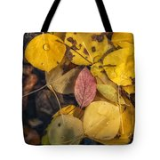 The Red Leaf Tote Bag