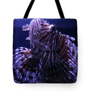 The Red Lionfish Tote Bag
