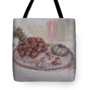 The Red Onion Tote Bag