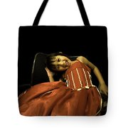 The Red Party Dress Tote Bag