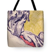 The Red Pillow Tote Bag