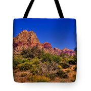 The Red Rock Canyon At Bonnie Springs Ranch Tote Bag