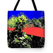 The Red Roof Tote Bag