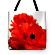 The Red Rose Tote Bag