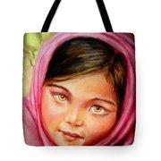 Brown Eyes Tote Bag