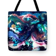The Red Stars Of Paradise Tote Bag