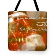 The Red Suit Quote Tote Bag