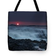 The Red Sun Tote Bag