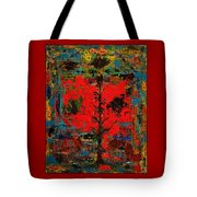 The Red Tree -or- Paint Tote Bag