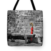 The Red Umbrella 2 Tote Bag
