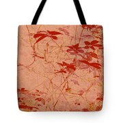 The Red Vine Tote Bag