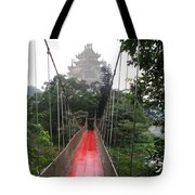 The Red Way In Tote Bag