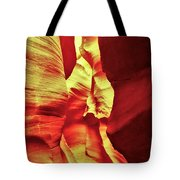 The Reddish Yellow Path Tote Bag