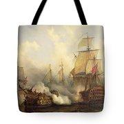 The Redoutable At Trafalgar Tote Bag