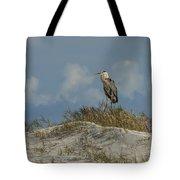 The Regal Great Blue Heron Tote Bag