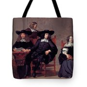 The Regents Of The Old Men And Women Hospital In Amsterdam Tote Bag