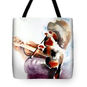 The Rehearsal Tote Bag by Linda Lindall
