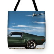 The Rendezvous - 1968 Mustang Fastback Tote Bag