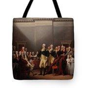 The Resignation Of General George Washington Tote Bag