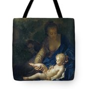 The Rest On The Flight Into Egypt Tote Bag by Adriaan van der Werff