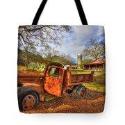 The Resting Place 2 Farm Life 1947 Dodge Dump Truck Art Tote Bag
