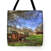 The Resting Place Shadows Tote Bag