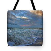 The Restless Sea Tote Bag