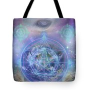 The Return Tote Bag by Jahsah Ananda