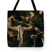 The Return Of The Prodigal Son Tote Bag by Giovanni Francesco Barbieri