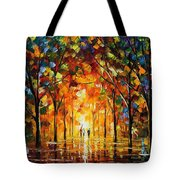 The Return Of The Sun Tote Bag