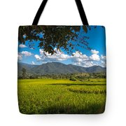 The Rice Fields Of Pai, Thailnad Tote Bag