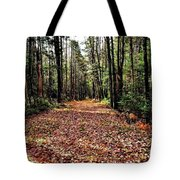 The Richness Of Autumn Treasures Tote Bag