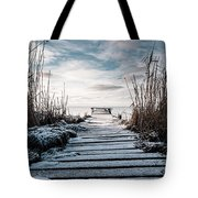 The Rickety Jetty Tote Bag