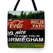 The Rickwood Classic - Birmingham Alabama Tote Bag