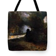 The Ride Of Death The Fall And Death Tote Bag