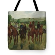 The Riders, 1885 Tote Bag