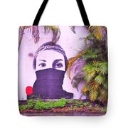 Fighting For Life  Tote Bag
