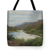 The Rio Grande Between Taos And Santa Fe Tote Bag