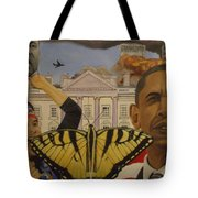 The Rise Of A Falling Nation  Tote Bag