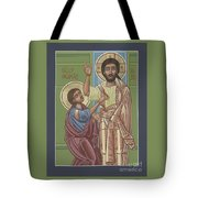 The Risen Lord Appears To St Thomas 257 Tote Bag