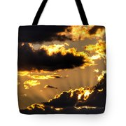 The Rising Of The Setting Sun Tote Bag