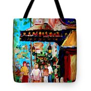 The Ritz Carlton In Spring Tote Bag